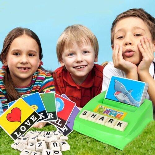 Детские игры на запоминание английских слов
